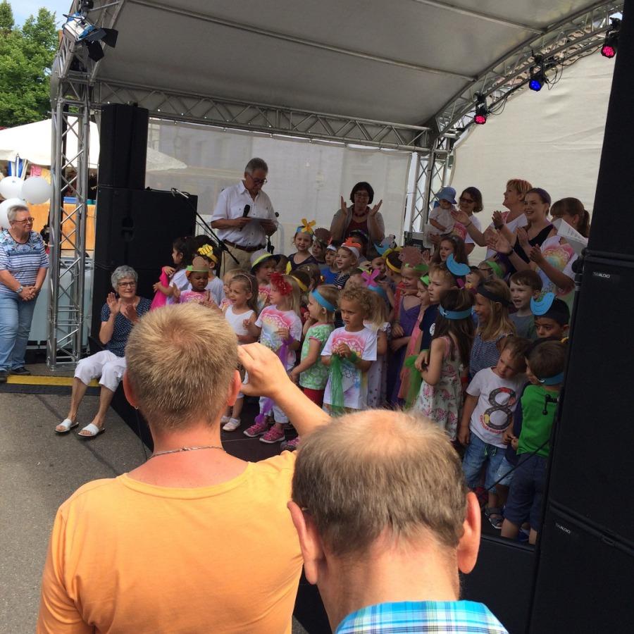 Auftritt Kinderhaus Lerchenweg